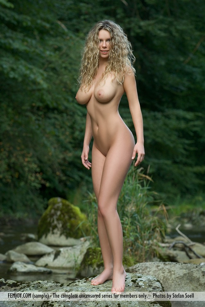 Naked breasts on the
