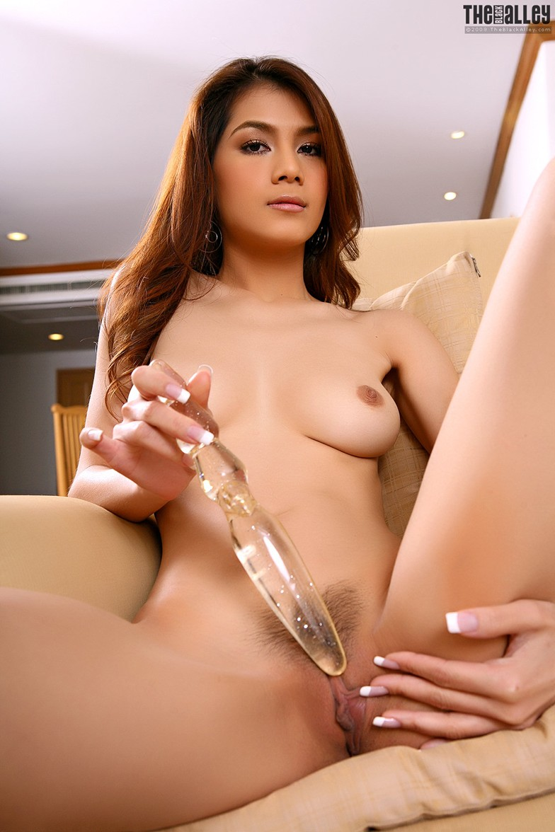 girl dildo Asian using