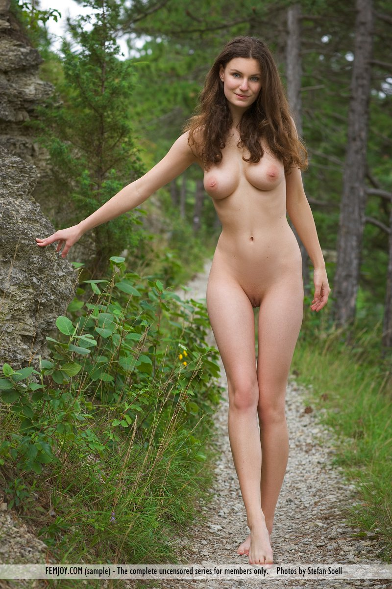 pic nature nude In model