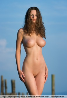 Naked Big Breasts Model