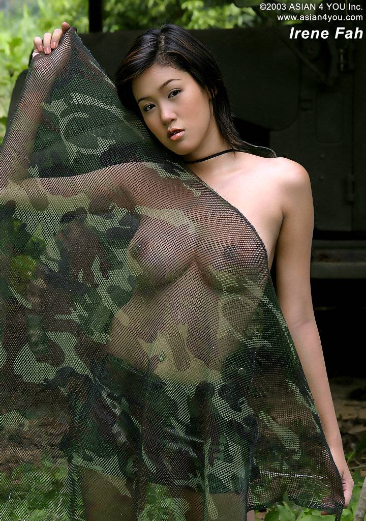 military nude Asian women
