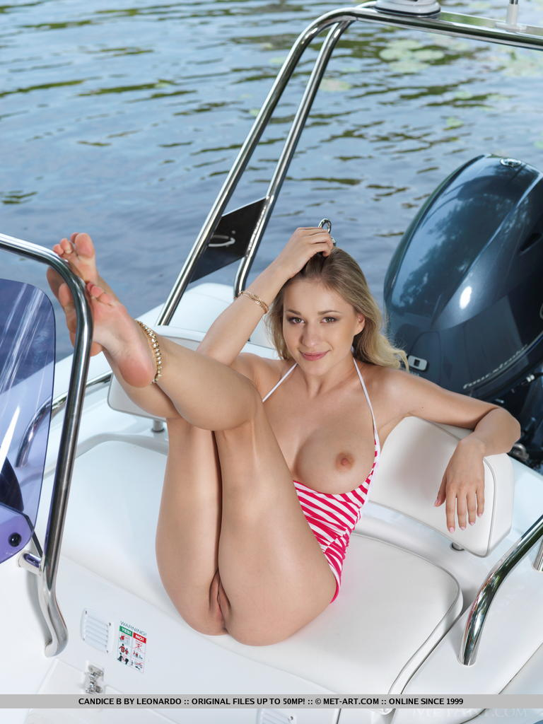 Here against Teen girls naked on a boat