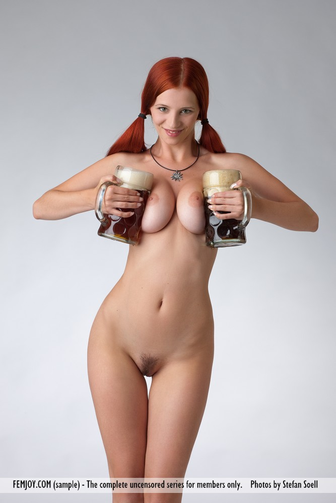 Big tits and beer