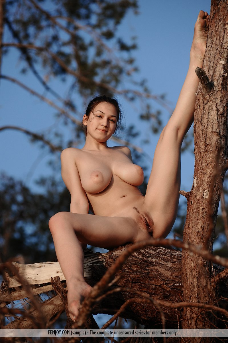from Jameson naked girl on a tree