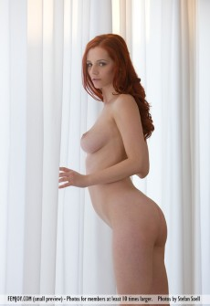 Hot Redhead With Big Titties
