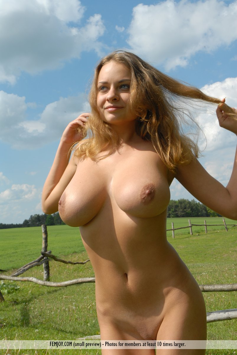 Blonde farm girls naked