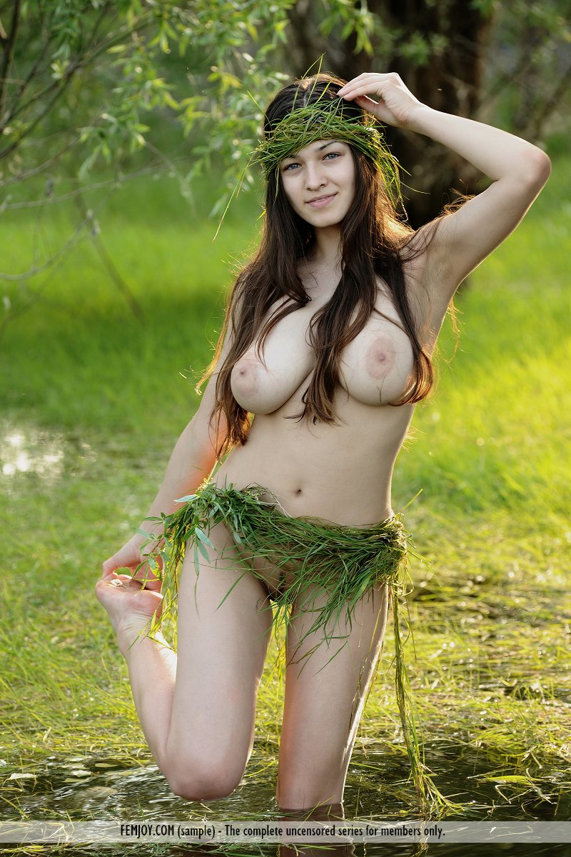 from Haiden nude girl in swamp