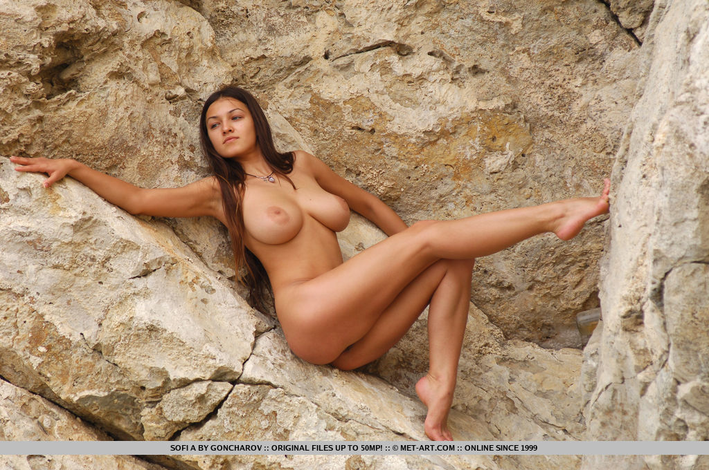 Something is. busty nudist posing naked rocks opinion you