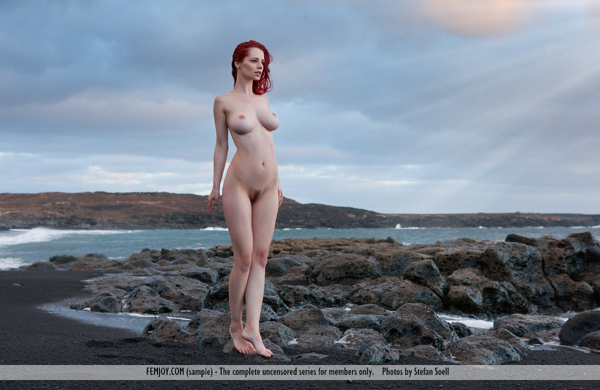 Voluptuous redhead nude beach congratulate, remarkable