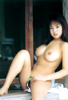 Sexy Breasts Naked Asian Model