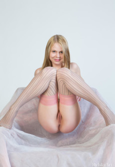 Blonde Russian Babe Naked Pussy